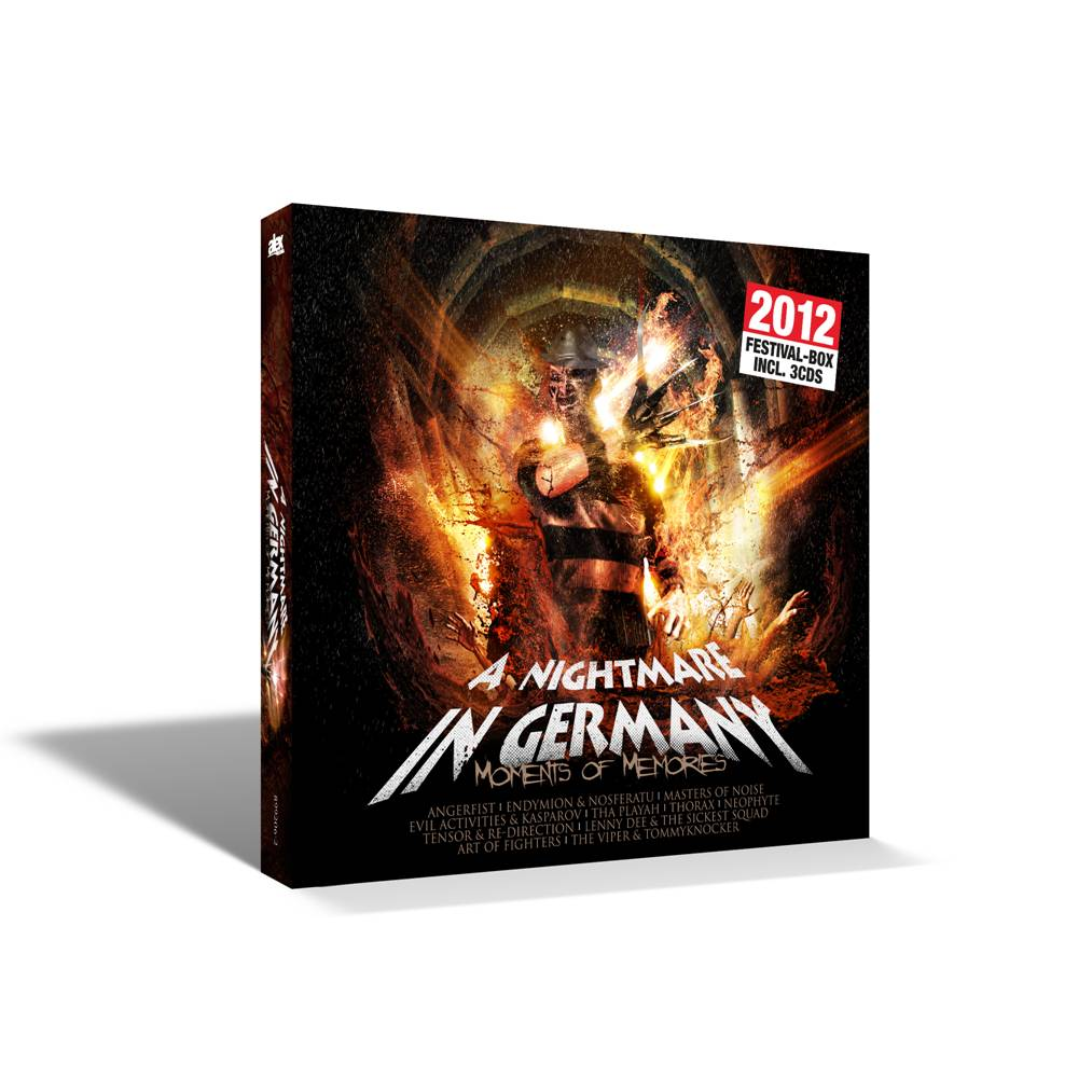 DJ Neophyte And DJ Ron - A Nightmare In Germany Vol. 2