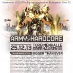 Army of Hardcore auf dem Cover des Update Magazin