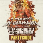 A Nightmare in Germany Timetable & Locationmap [08.11.]