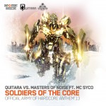 FREE DOWNLOAD Quitara vs Masters of Noise ft MC Syco – Soldiers Of The Core (Army of Hardcore Anthem 2013)