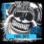 200 BPM STYLE 2017 – Final Info (Boxoffice/Abendkasse)
