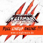 A Nightmare In Germany 2017 – Line Up release