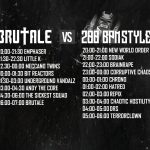 200 BPM STYLE vs. Brutale – The Timetable – 10.03.18