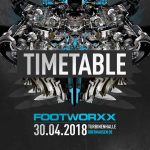Footworxx – 30.04.18 – The Timetable
