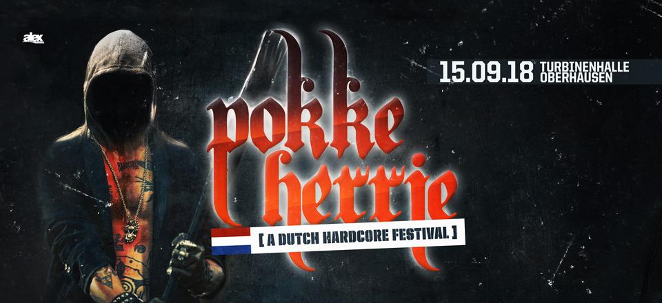 Pokke Herrie – 15.09.18 – Turbinenhalle Oberhausen