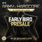 Army of Hardcore 2018 – Early Bird presale online!