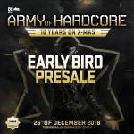 Army of Hardcore 2018 – Early Bird presale online!