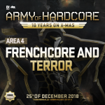 Army of Hardcore 2018 – Frenchcore / Terror Area