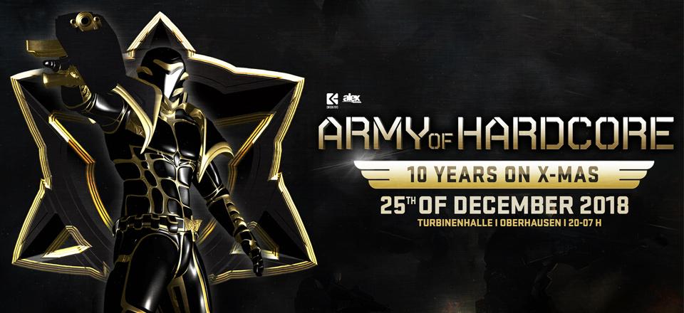 25.12.18 Army of Hardcore