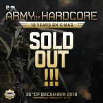 Army of Hardcore – sold out