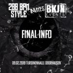 200 BPM STYLE invites BKJN – Final Info – 09.02.2019