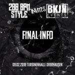 200 BPM STYLE invites BKJN – Final Info – 09.02.2019