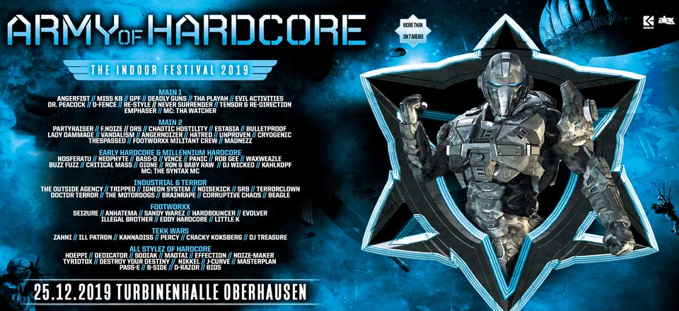 25.12.2019 Army Of Hardcore