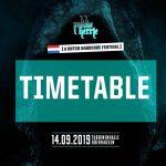 Pokke Herrie – 14.09-2019 – Timetable