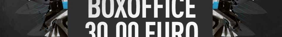 Abendkasse / Box Office Info – Footworxx – 30.04.18